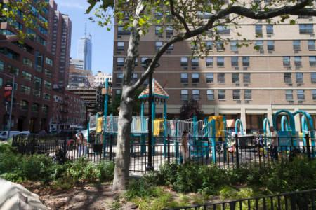 Apts in Financial District - pearl st playground