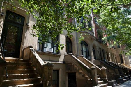 Apts in Upper West Side - brownstones