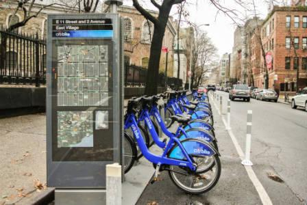 Citi Bikes East Village