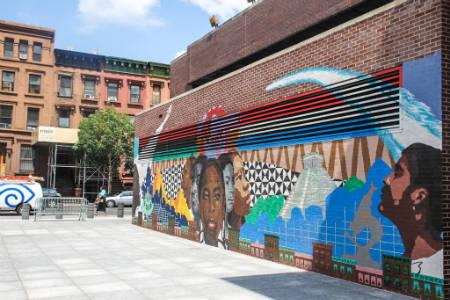 Harlem Rentals -  Mural on 125th