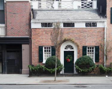 west village - bleeker st house christmas